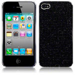 View Item iPhone 4S / 4 Diamante Style Hard Cover - Black