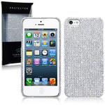 View Item iPhone 5 Diamante Case - Full Silver