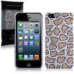 View Item iPhone 5 Diamante Case - Leopard Spots