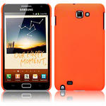View Item Samsung Galaxy Note Covert Slim Armour Hard Cover - Neon Orange