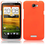 View Item HTC One X Covert Slim Armour Hard Cover - Neon Orange