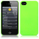 View Item iPhone 4S / 4 Covert Slim Armour Hard Cover - Neon Green