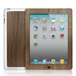 View Item iPad 2 / 3 Genuine Walnut Wooden Lumberjacket Case
