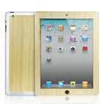 View Item iPad 2 / 3 Genuine Bamboo Wooden Lumberjacket Case