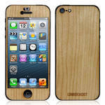 View Item iPhone 5 Genuine Cherry Wooden Lumberjacket Case