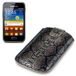 View Item Samsung Galaxy Ace Plus S7500 Covert Executive Pocket Pouch Case - Snakeskin