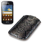View Item Samsung Galaxy Ace 2 I8160 Covert Executive Pocket Pouch Case - Snakeskin