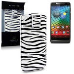 View Item Motorola Razr I XT890 Executive Pouch Case - Zebra Stripes
