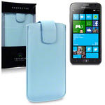 View Item Samsung Ativ S Executive Pouch Case - Baby Blue