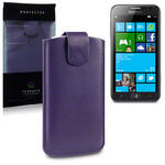 View Item Samsung Ativ S Executive Pouch Case - Purple