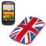 View Item HTC Desire C Executive Pouch Case - Union Jack By Terrapin