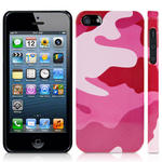 View Item iPhone 5 Candy Camo Fashion Case - Shades Of Pink