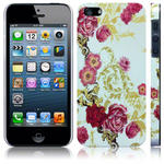 View Item iPhone 5 Vintage Floral Flourish Fashion Case -  Flowers