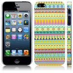View Item iPhone 5 Totally Tribal Bright Aztec Fashion Case - Yellow