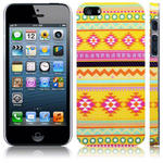View Item iPhone 5 Oh So Mexico Bright Aztec Fashion Case - Yellow