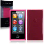 View Item iPod Nano 7 TPU Gel Skin Case - Hot Pink