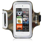 View Item iPod Touch 5 Custom Fit Shocksock Reflective Sports Armband - Camo