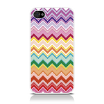 View Item iPhone 4S / 4 Chevron Clash Fashion Case