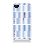 View Item iPhone 4S / 4 Antique Abacus Fashion Case Blue/Red/White
