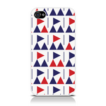 View Item iPhone 4S / 4 Flag Frenzy Fashion Case Blue/Red/White
