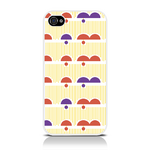 View Item iPhone 4S / 4 Dreamy Days Bright Fashion Case Yellow/Purple/Orange/White