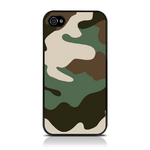 View Item iPhone 4S / 4 Cargo Camo Fashion Case Shades Of Green And Brown