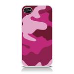 View Item iPhone 4S / 4 Candy Camo Fashion Case Shades Of Pink