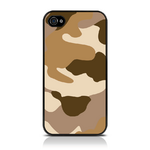 View Item iPhone 4S / 4 Desert Camo Fashion Case Shades Of Brown