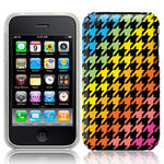 View Item iPhone 3GS / 3G Happy Houndstooth Fashion Case