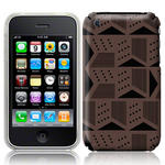View Item iPhone 3GS / 3G Metrix Dark Fashion Case Grey/Black