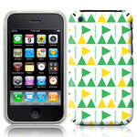 View Item iPhone 3GS / 3G Flag Frenzy Fashion Case Green/Yellow/White