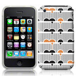 View Item iPhone 3GS / 3G Dreamy Days Dark Fashion Case Black/Beige/White