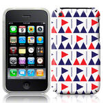 View Item iPhone 3GS / 3G Flag Frenzy Fashion Case Blue/Red/White