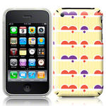 View Item iPhone 3GS / 3G Dreamy Days Bright Fashion Case Yellow/Purple/Orange/White