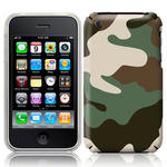 View Item iPhone 3GS / 3G Cargo Camo Fashion Case Shades Of Green And Brown