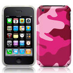 View Item iPhone 3GS / 3G Candy Camo Fashion Case Shades Of Pink