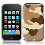 View Item iPhone 3GS / 3G Desert Camo Fashion Case Shades Of Brown