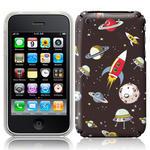 View Item iPhone 3GS / 3G Vintage Retro Rocket Novelty Case