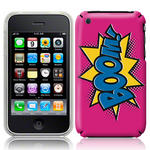 View Item iPhone 3GS / 3G Boom Comic Capers Case Pink/Blue/Yellow