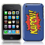 View Item iPhone 3GS / 3G Kapow Comic Capers Case Purple/Orange/Yellow