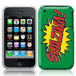 View Item iPhone 3GS / 3G Shazam Comic Capers Case Green/Red/Yellow