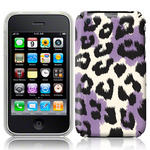 View Item iPhone 3GS / 3G Summer Roar Fashion Case Black/White/Purple