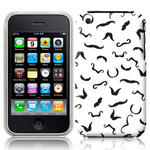 View Item iPhone 3GS / 3G I Moustache You Something  - Black/White