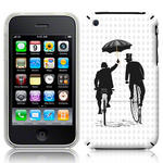 View Item iPhone 3GS / 3G Vintage Retro Penny Farthing  - Black/Grey