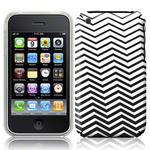 View Item iPhone 3GS / 3G Geometric Deco Series No7 Fashion Case Black & White