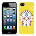 View Item iPhone 5 Candy Skull Print Fashion Case