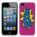 View Item iPhone 5 Boom Comic Capers Case Pink/Blue/Yellow