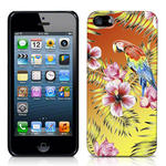 View Item iPhone 5 Hawaiian Print Totally Tropical Case Parrot With Orange And Yellow Vingette