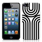 View Item iPhone 5 Geometric Deco Series No1 Fashion Case Black & White