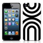 View Item iPhone 5 Geometric Deco Series No2 Fashion Case Black & White